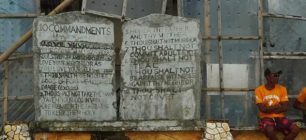 Moral Precepts today go Beyond the Ten Commandments