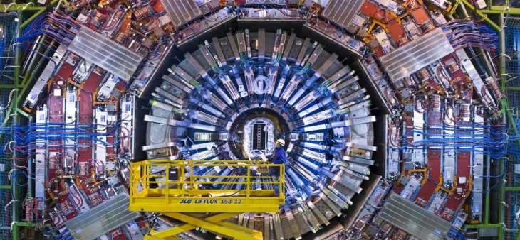 The CERN Large Hadron Collider, near Geneva, Switzerland