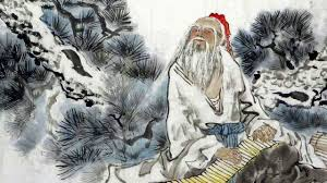 Lao Tzu, an imagined portrait of the reputed author of the Tao Te Ching